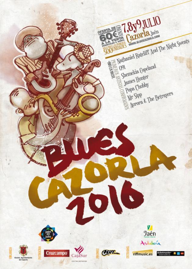 Blues-cazorla-2016-cartel